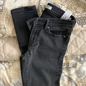 Banana Republic Black Denim skinny jeans